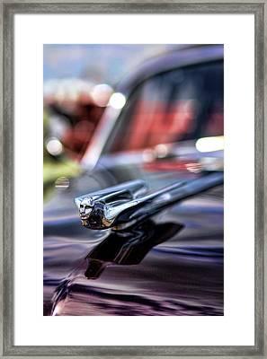 1949 Cadillac Hood Ornament Framed Print by Gordon Dean II