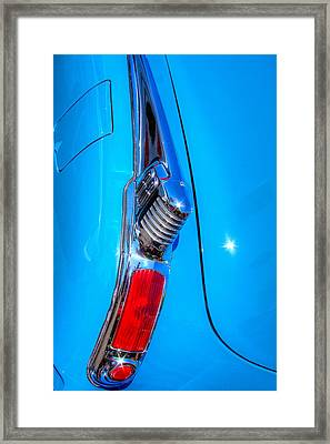 1950 Oldsmobile 88 Deluxe Holiday Coupe Framed Print by David Patterson