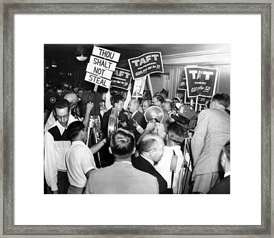 1952 Republican National Convention Framed Print by Everett