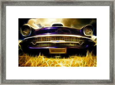 1957 Chevrolet Bel Air Framed Print by Phil 'motography' Clark