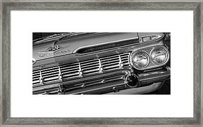 1959 Chevrolet Impala Framed Print by Gordon Dean II