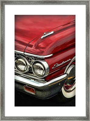 1961 Ford Starliner Framed Print by Gordon Dean II