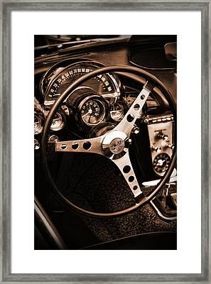 1962 Chevrolet Corvette Framed Print by Gordon Dean II