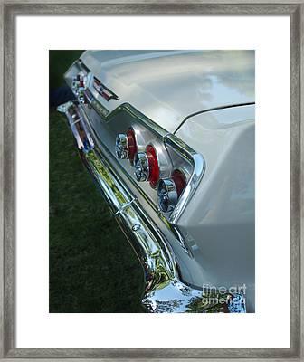 1963 Chevy Impala Taillights Framed Print
