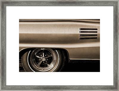 1966 Dodge Coronet 500 Framed Print
