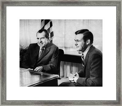 1969 Us Presidency, Cabinet.  Us Framed Print