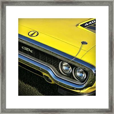 1971 Plymouth Gtx 440 Framed Print