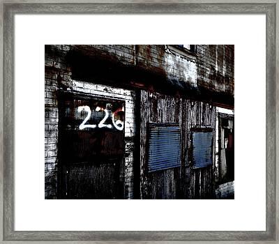 226 Framed Print
