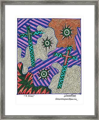 Jackson Pollock Abstract Framed Print