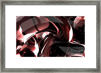 3d Abstract Background Framed Print by Rattanapon Muanpimthong