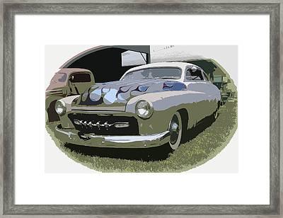50 Merc Framed Print by Steve McKinzie