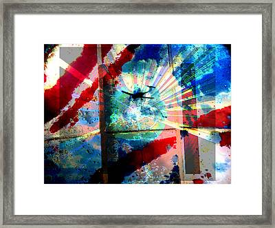 9-11 In Memory 2 Framed Print by Lenore Senior