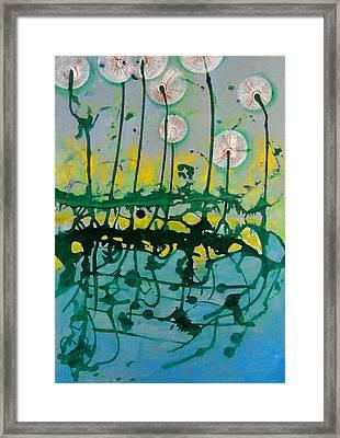 A Dream Framed Print by Nina Mirhabibi