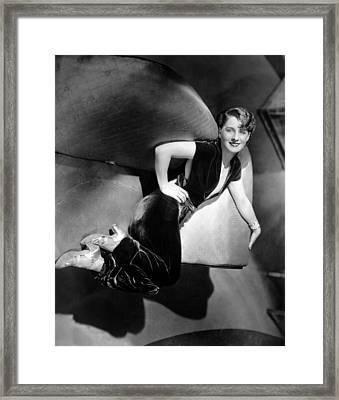 A Free Soul, Norma Shearer, 1931 Framed Print by Everett