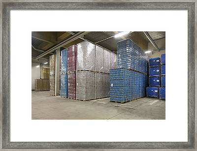 A Le Coq Brewery In Tartu Estonia Framed Print by Jaak Nilson