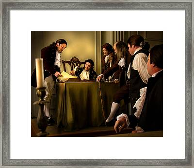 A Light To All Mankind Framed Print by Helen Thomas Robson
