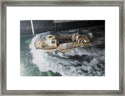 A Lighter Amphibious Re-supply Cargo Framed Print by Stocktrek Images