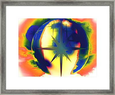 A New World Framed Print by Beto Machado