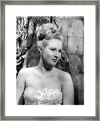 A Song Is Born, Virginia Mayo, 1948 Framed Print by Everett