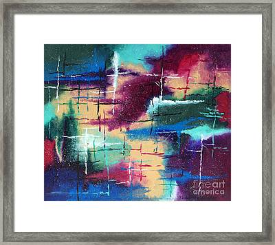 A Star Is Born Framed Print by Kimberlee Weisker