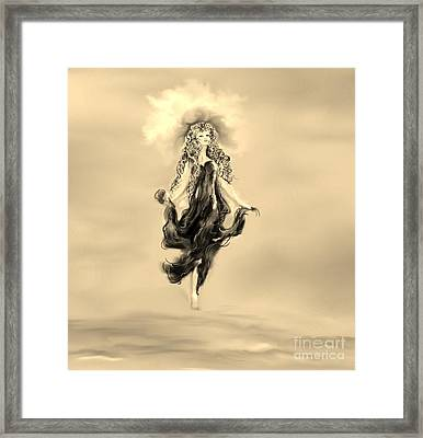 Framed Print featuring the painting A Timeless Dream by Lori  Lovetere