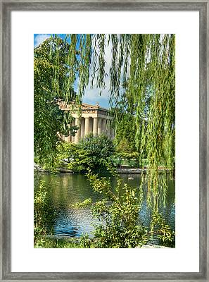 A View Of The Parthenon 8 Framed Print by Douglas Barnett