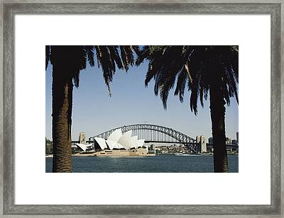 A View Of The Sydney Opera House Framed Print by Bill Ellzey