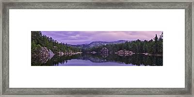 A Y Jackson Lake Framed Print by Ken Bennison