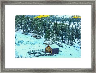 Abandoned Barn Lll Framed Print by Shannon Harrington