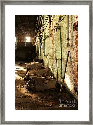 Abandoned Factory Framed Print