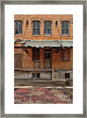 Abandoned Warehouse Framed Print by Jill Battaglia