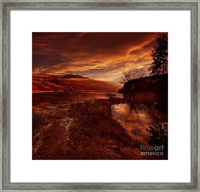 Abbey Lane Framed Print by Nigel Hatton