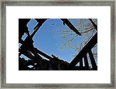 Above It Framed Print