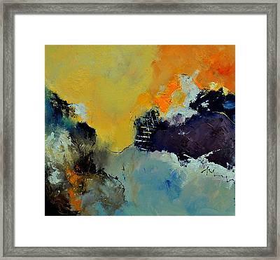 Abstract 8821013 Framed Print by Pol Ledent