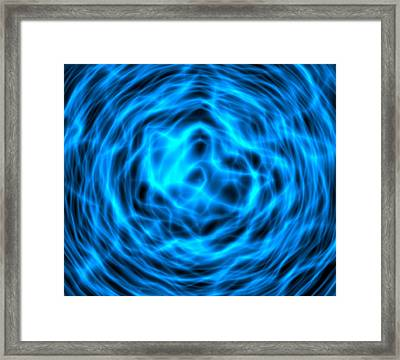 Abstract Computer Artwork Framed Print by Roger Harris