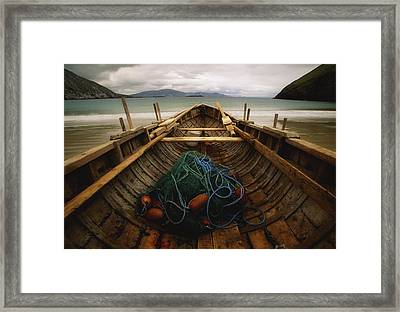 Achill Island, County Mayo, Ireland Framed Print by Richard Cummins