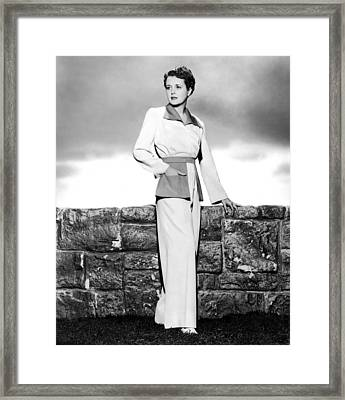 Across The Pacific, Mary Astor, 1942 Framed Print by Everett
