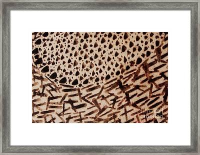 Africano Framed Print