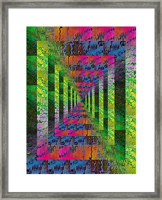 After The Rain 4 Framed Print by Tim Allen