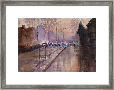 After The Rain Framed Print by Heidi Patricio-Nadon