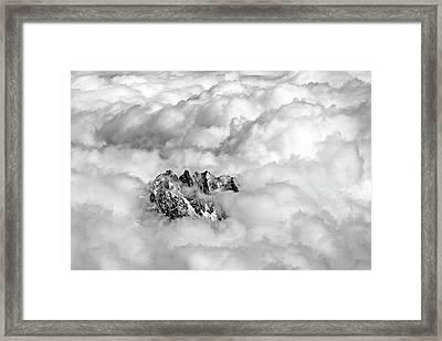 Aiguille Du Midi Framed Print by Ellen van Bodegom