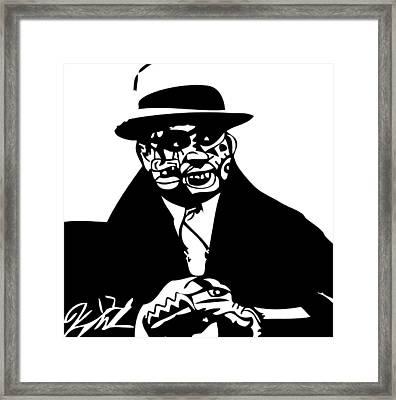 Al Capone Framed Print by Kamoni Khem