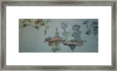 Album Of Crickets Framed Print by Debbi Saccomanno Chan