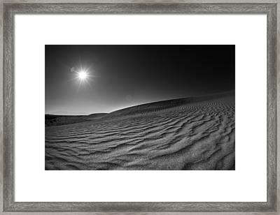 Albuquerque Dunes Framed Print