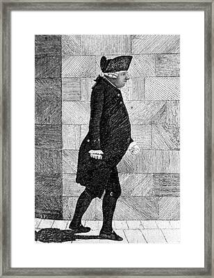 Alexander Monro II, Scottish Anatomist Framed Print by Science Source