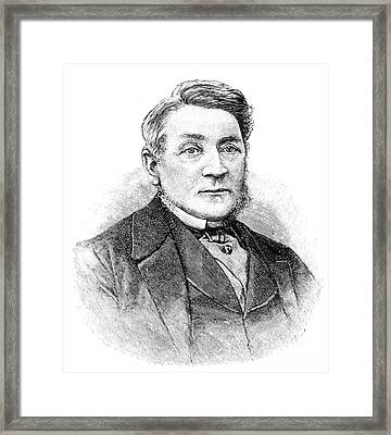 Alfred Swaine Taylor, English Framed Print by Science Source