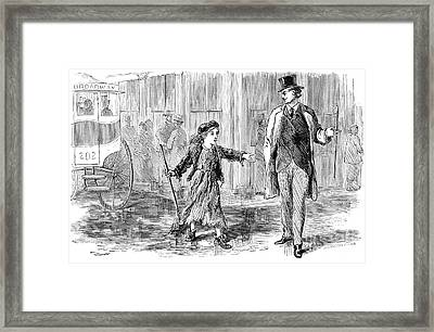Alger: Tattered Tom Framed Print by Granger