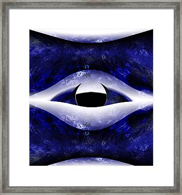 All Seeing Eye Framed Print by Christopher Gaston
