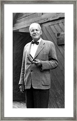 Allen Dulles, One-time Director Framed Print by Everett