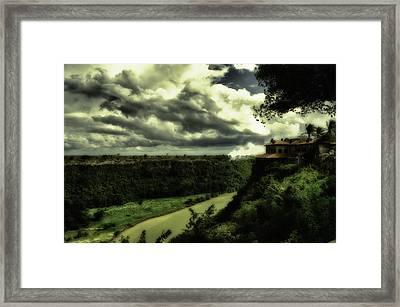 Altos De Chevon Dominican Republic Framed Print by Charles Garrett